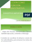 Direccion Como Funcion Administrativa