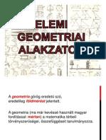 Geomtriai alakzatok - 5. osztály