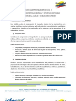 MÓDULOS DE COMPETENCIAS GENÉRICAS Y ESPECÍFICAS DISPONIBLES 2011 - II