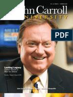 John Carroll University Magazine Summer 2009