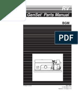 BGM Parts Manaual | Carburetor | Electrical Connector