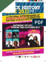 Black History Live at Wembley 1st & 2nd October 2011