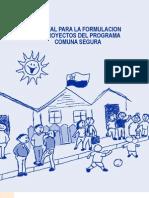 Manual Para La Elaboracion de Proyectos