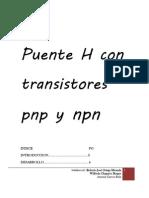 Puente H Con Transistores Pnp y NpnDOS