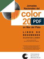 Jornadas Nacionales del Color 2007 en Mar del Plata. Libro Digitalizado