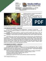 LIÇÃO 03 - EBD - OS HUMILDES DE ESPÍRITO – DEPENDÊNCIA DE DEUS - MT 5.3