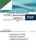 Modelo Tcp y Dife Osi Clase 4 Seman