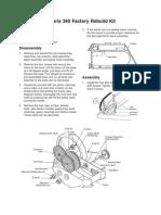 Polaris 380 Rebuild Kit Instructions