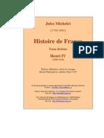 Michelet Histoire de France t10