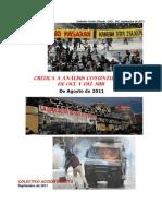 Crítica a Trabajos Coyuntura OCL y MIR, Agosto 2011