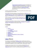 Visual Basic es un lenguaje de programación dirigido por eventos