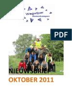 Nieuwsbrief September 2011