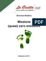 Missione (quasi) zero emissioni
