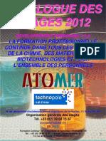 Catalogue Formation Développement personnel Expression Communication Gestion de projet 2012