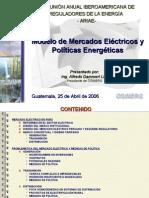 Guatemala Mercado Electrico Politica Energetic A