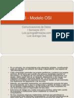 Comunicaciones de Datos 2011-OSI