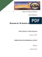 El Dominio Del Entorno.