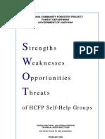 SWOT of Self Help Group
