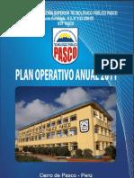 opan operativo anual 2011