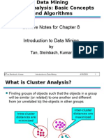 Chap8 Basic Cluster Analysis
