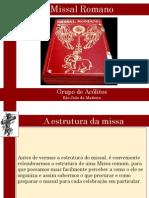 Missal Romano - Apresentacao