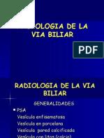 Radiologia de La vìa Biliar