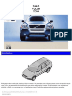 VOLVO XC90 2003 User Manual