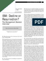 IBM Mgt Interview