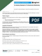 XI Manual Installation Instructions