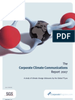 Corporate Climate Communications Report 2007
