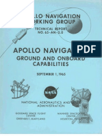 Apollo Navigation Ground and Onboard Capabilities