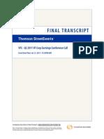 Request VFC Transcript 2011-07-21T12 30