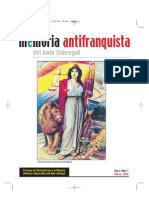 Revista Memoria Antifranquista Baix Llobregat Num1