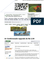 Ar Condicionado-Upgrade de R$ 2,50 - Aventura & Offroad1