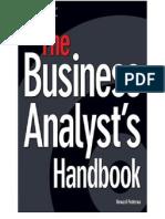 thebusinessanalystshandbookchapter3standardsandguide