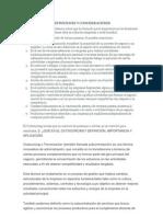 Definiciones y Consideraciones de Laboral