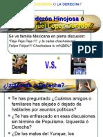 Felipe Calderón ó AMLO