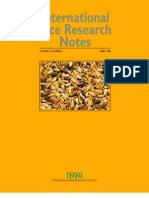 International Rice Research Notes Vol.21 No.1