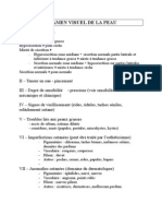 Examen Visuel de La Peau