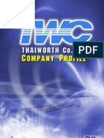 Company Profile Twc+Cover