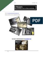 MAAFA 21 Genocide of Blacks in 21st Century America Companion Reader