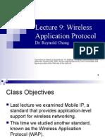 Lecture9 Wap