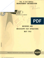 Michoud and Mississippi Test Operations May 1965