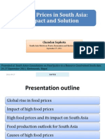High Food Prices in South Asia_presentation_2011-09-27