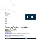Manual Como Usar Tester - Multi Metro