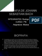 Biografia de Johann Sebastian Bach