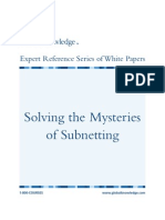 Mysteries of Sub Netting