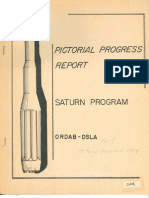 Pictorial Progress Report of the Saturn Launch Vehicle Develpment Vol I