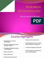 Research Methodology- 1st Week