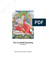 22334436 Chandrakirti the Sevenfold Reasoning